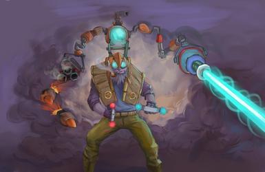 Tinker Dota2 by Intruder251