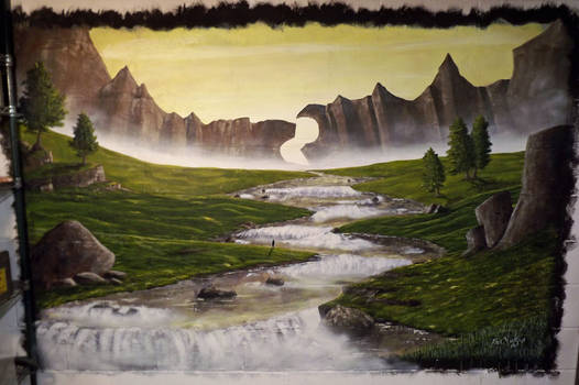 Rivers in Air and Earth (Mural)