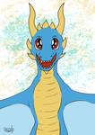 Happy dragon by daftfan2011