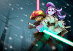 Two padawans of the twilight