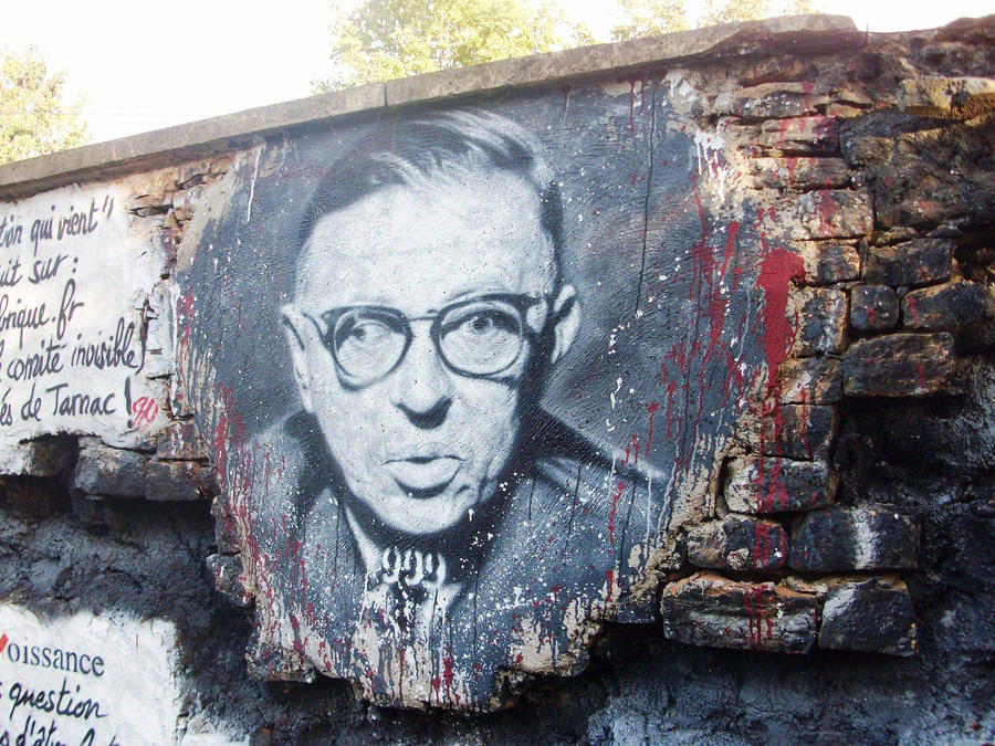 Jean-Paul Sartre by Jona25