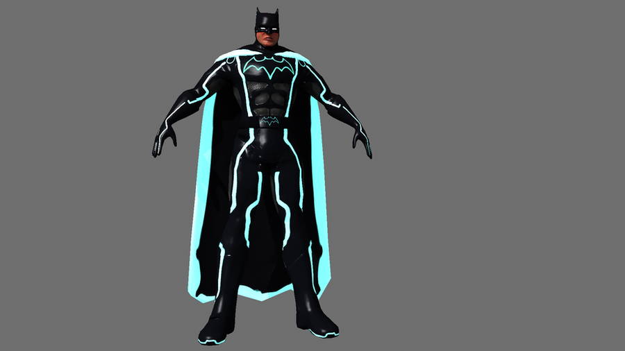 tron batman 2 by adamflores81 ... & tron batman 2 by adamflores81 on DeviantArt