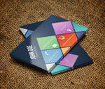 Colorful Metro Business Card