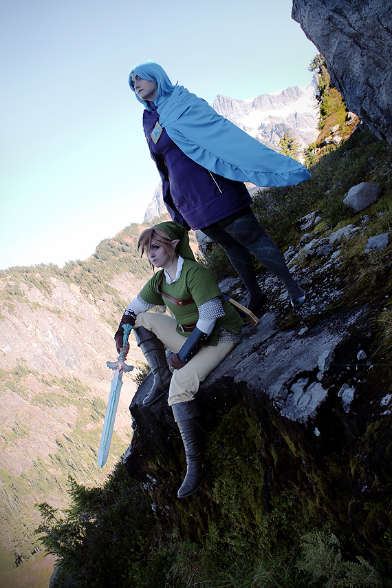 Legend of Zelda: Mountainside by ShinraiFaith