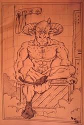 Gilgamesh Valentine by bwaisohf