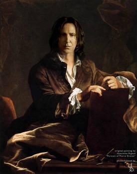 Portrait of Severus Snape