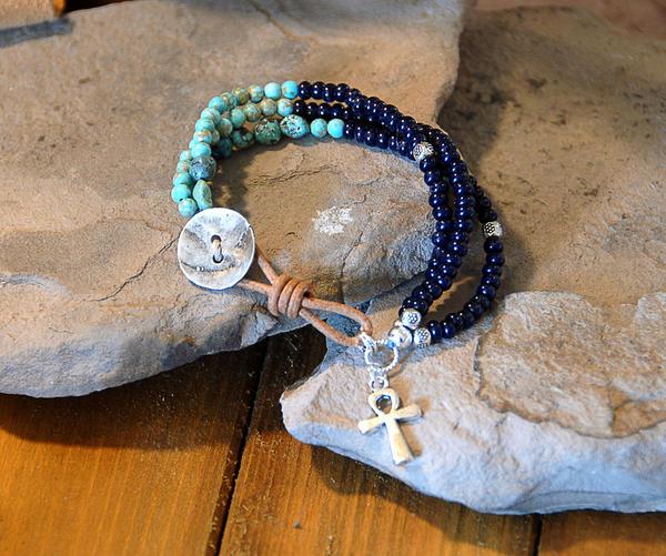 Beaded Bracelet by deej240z