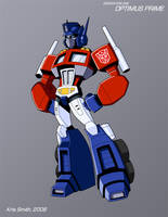 WEEK 4 Gen 1 Optimus Prime