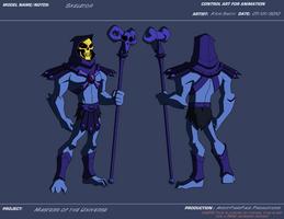 AP Skeletor by KrisSmithDW