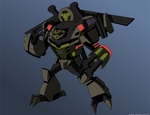 Animated Blackout Earth Mode