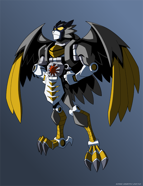 Beast Wars Silverbolt by KrisSmithDW