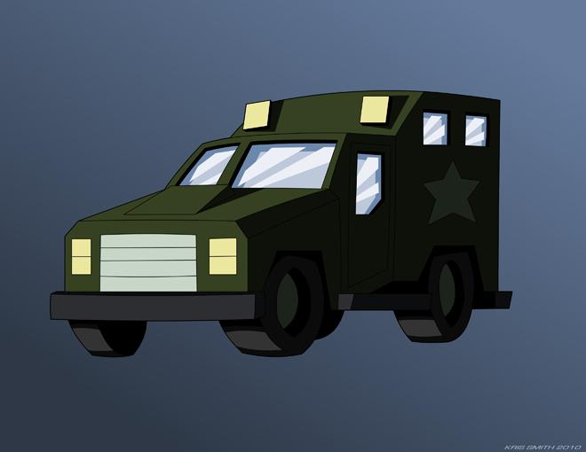 G1 Bulkhead Truck Mode by KrisSmithDWBulkhead Transformers G1