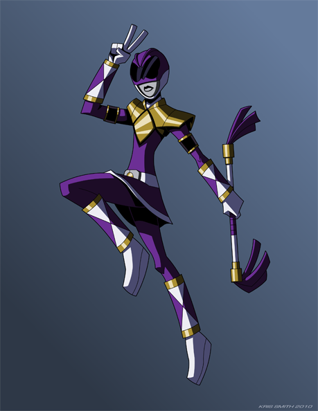 Purple Ranger by KrisSmithDW on DeviantArt