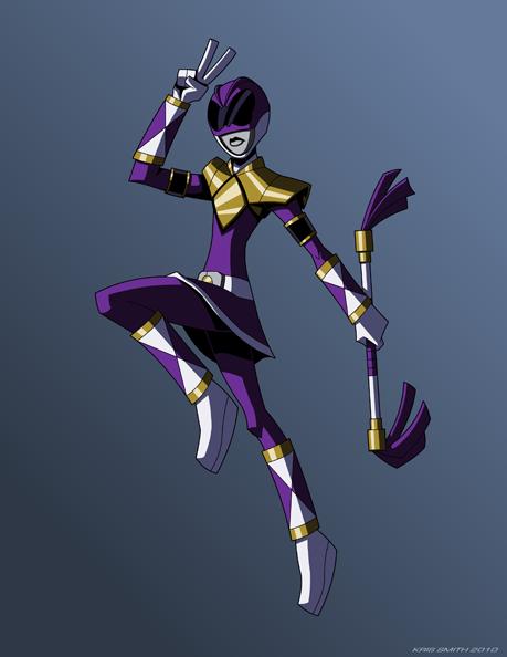 Purple Ranger by KrisSmithDW on DeviantArt