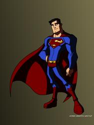 Superman by KrisSmithDW
