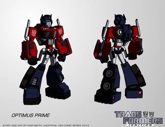 Transformers:IGNITION - Optimus Prime (Robot Mode) by KrisSmithDW