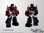 Transformers:IGNITION - Optimus Prime (Robot Mode)