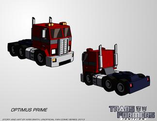 Transformers: IGNITION - Optimus Prime (Alt Mode) by KrisSmithDW