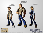 Transformers: IGNITION - Spike, Sparkplug, Carly