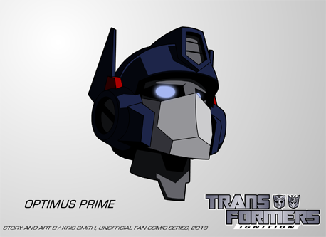 Transformers: IGNITION - Optimus Prime Head Test by KrisSmithDW