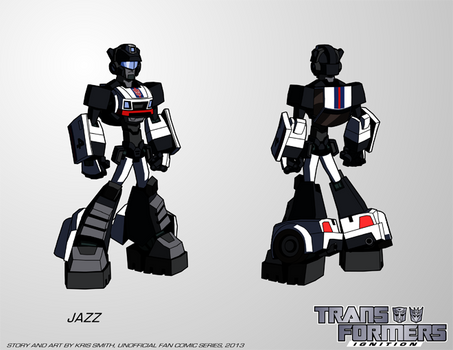 TF:Ignition - Jazz (Robot Mode)