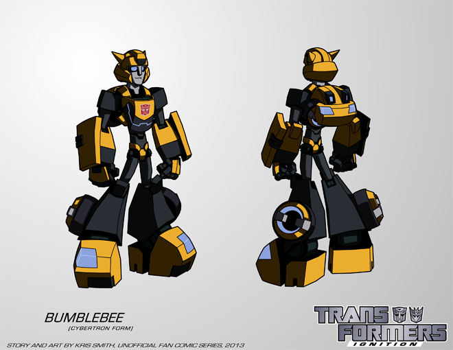 TF:Ignition - Bumblebee (Cybertron Robot Mode) by ...