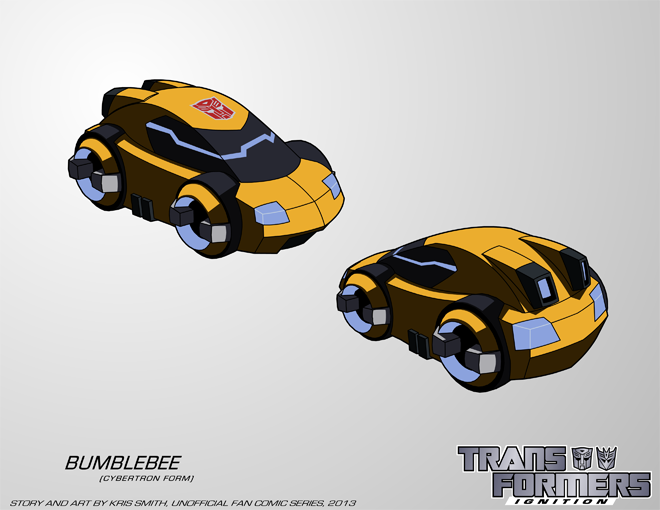 TFIgnition Bumblebee Cybertron Vehicle Mode By KrisSmithDW On DeviantArt