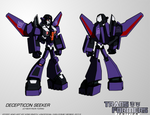 TF:Ignition - Decepticon Seeker (Cyb.Robot Mode)