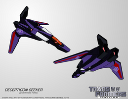 TF:Ignition - Decepticon Seeker (Cyb.Vehicle Mode) by KrisSmithDW