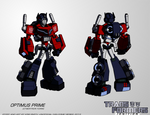 TF:Ignition - Optimus Prime (Cyb. Robot Mode)