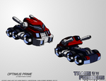 TF:Ignition - Optimus Prime (Cyb. Vehicle Mode)