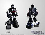 TF:Ignition - Jazz (Cybertron Robot Mode)