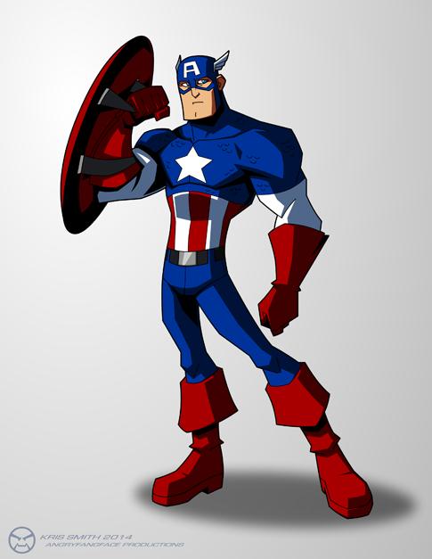 Captain America by KrisSmithDW