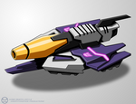 WfC-style Galvatron Vehicle