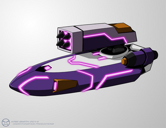 WfC-style Thunderblast Vehicle by KrisSmithDW