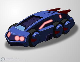 WfC-style Chromia Vehicle by KrisSmithDW