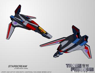 TF:Ignition - Starscream (Cyb. Alt Mode) by KrisSmithDW