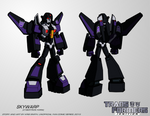 TF:Ignition - Skywarp (Cyb. Robot Mode)
