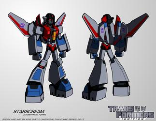 TF:Ignition - Starscream (Cyb. Robot Mode) by KrisSmithDW