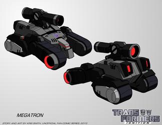 TF:Ignition - Megatron (Alt Mode) by KrisSmithDW