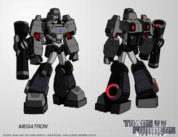TF:Ignition - Megatron (Robot Mode) by KrisSmithDW
