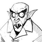 Drawlloween Inktober Day 04 - Vampire