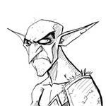 Drawlloween Inktober Day 03 - Goblin