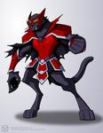 Catra Werecat Form