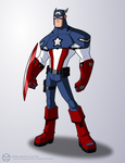 Captain America Redesign - Animation