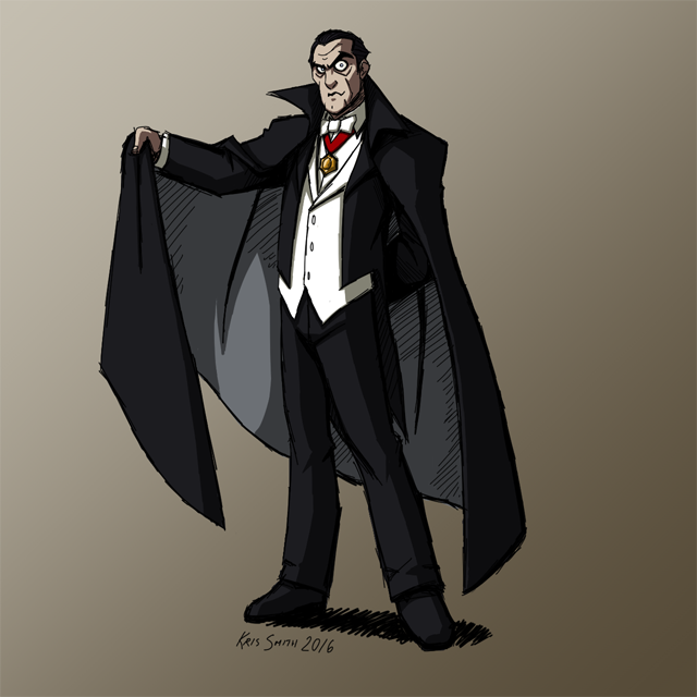 HALLOWEEN 2016 Day 2: Count Dracula