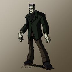 HALLOWEEN 2016 Day 3: Frankenstein's Monster by KrisSmithDW