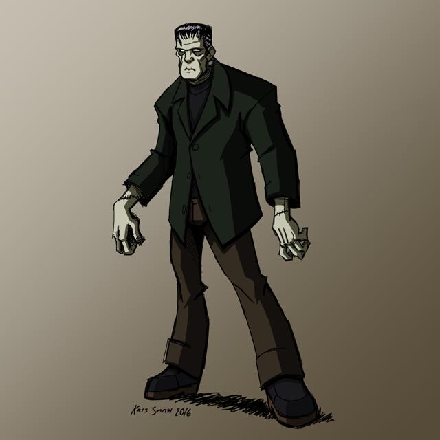 HALLOWEEN 2016 Day 3: Frankenstein's Monster