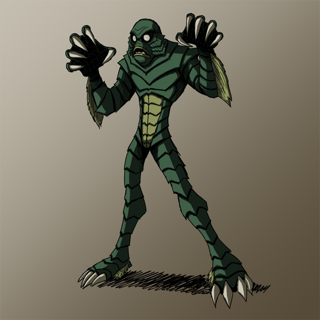 HALLOWEEN 2016 Day 7: Creature frm. Black Lagoon