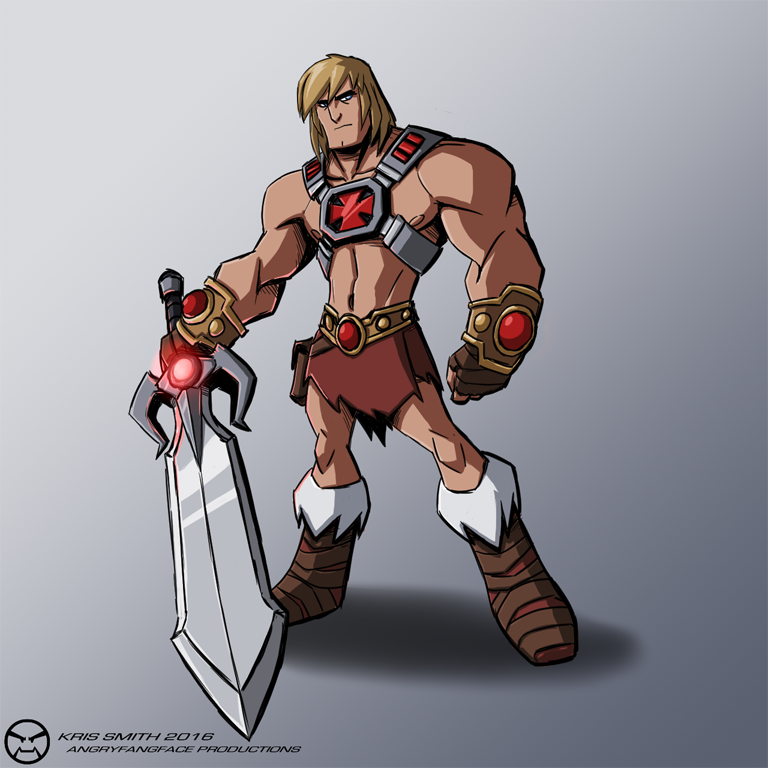 He-Man (Re-Design) by KrisSmithDW